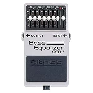 Boss GEB-7 7-Band Bass EQ Pedal