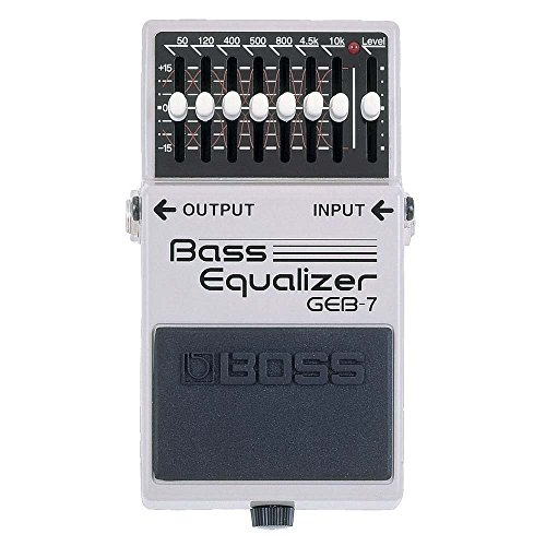 BOSS Compact Guitar Pedal (GEB-7) (Equalizer Bass Pedal)