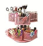 Nifty Cosmetic Organizing Carousel, Pink