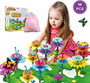 Girls Toys Flower Garden Building Toys for 3 4 5 6 Years Old Girls and Boys Toddlers Kids Gifts for 3+ Years O