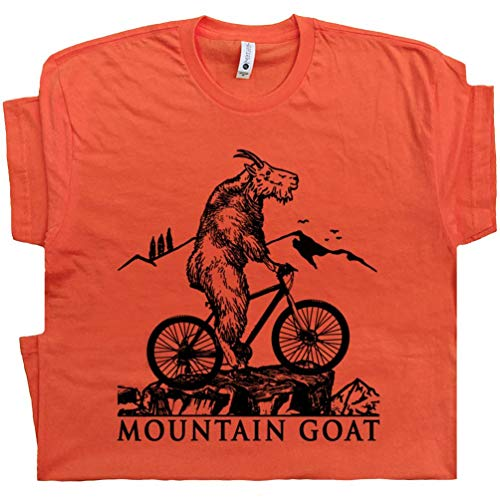 M - Mountain Biking T Shirt Trail Dirt Bike Tee Moab Utah Colorado Oregon Off Road Gift for Goat Riding Graphic Design White (Best Moab Mountain Bike Trails)