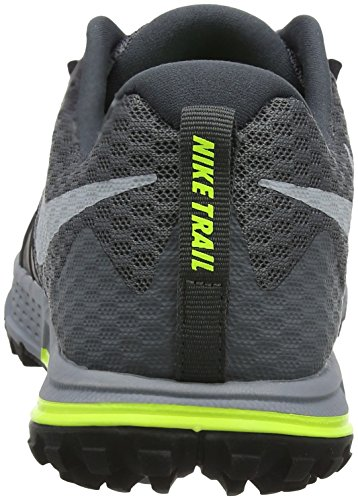 Nike Men's Air Zoom Wildhorse 4 Running Shoes Grey (Dark Grey/Black/Stealth/Wolf Grey) hmWldyq