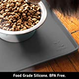 DogBuddy Dog Food Mat, Small (19x12) or Large