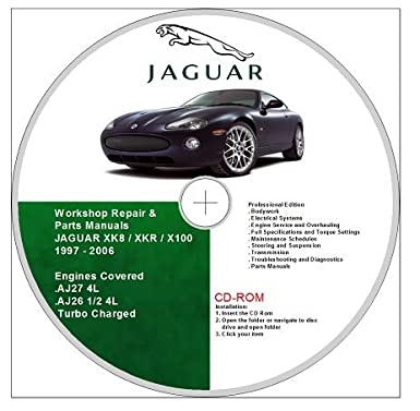 jaguar xk8 xkr x100 workshop and parts manuals 1997 2006 rh amazon co uk jaguar xk owners manual jaguar xk8 owners manual