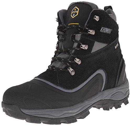 Boot Black Men's Weather Cold K Khombu Riley2 Grey xUXIqdYYw