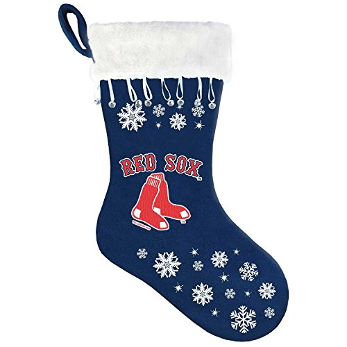MLB Boston Red Sox Snowflake Stocking