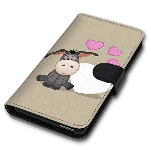 Wallet Book Style Flip Handy Tasche Case Schutz Hülle Schale Motiv Etui für Apple iPhone 5 / 5S - Design Flip MVD62