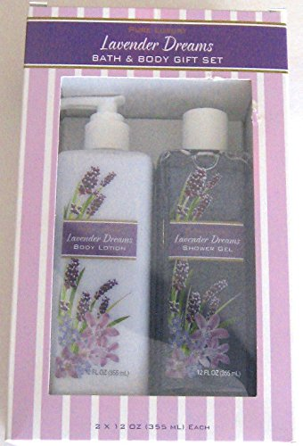 Pure Luxury Lavender Dreams Bath & Body Gift Set