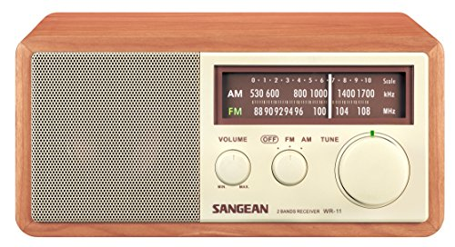 SANGEAN WR-11 AM/FM Table Top - Am Fm Cd Desk Radio