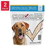 Checkups- Dental Dog Treats, 24ct 48 oz. for dogs 20+ pounds 2 Pack akj