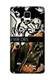 Samsung Galaxy Note 4 Case - Design Anime Afro Samurai Case for Samsung Galaxy Note 4