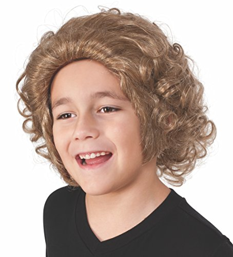 [Rubie's Costume Kids Willy Wonka & The Chocolate Factory Willy Wonka Wig] (Willy Wonka Costume Accessories)