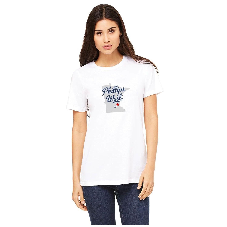 Phillips West Minnesota MN, Neighborhood of Minneapolis MAP GreatCitees T Shirt