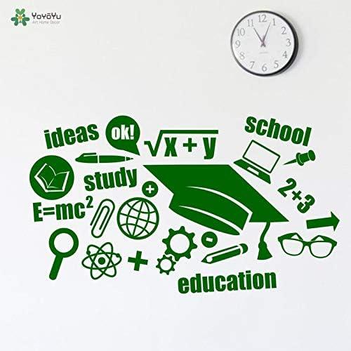 BailongXiao Etiqueta de la Pared educación Escolar patrón Creativo ...