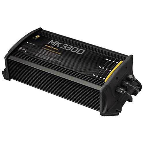 MinnKota MK 315D On-Board Battery Charger (3 Banks, 5 Amps per Bank) (Renewed) by Johnson Outdoors (Image #1)