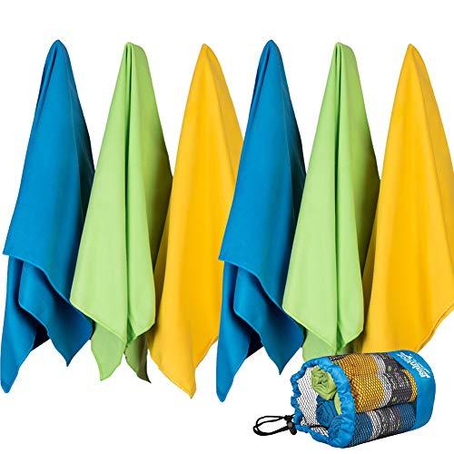 Rainleaf Microfiber Travel Towels Settled product image