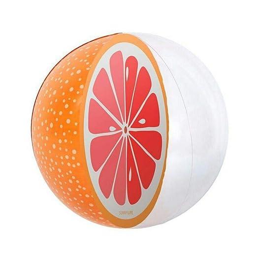 kaikki - Pelota Hinchable de sandía, Color Naranja, Forma de ...