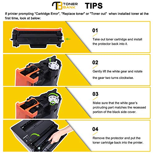 With Chip-Toner Bank TN2420 TN-2420 TN-2410 Compatible for