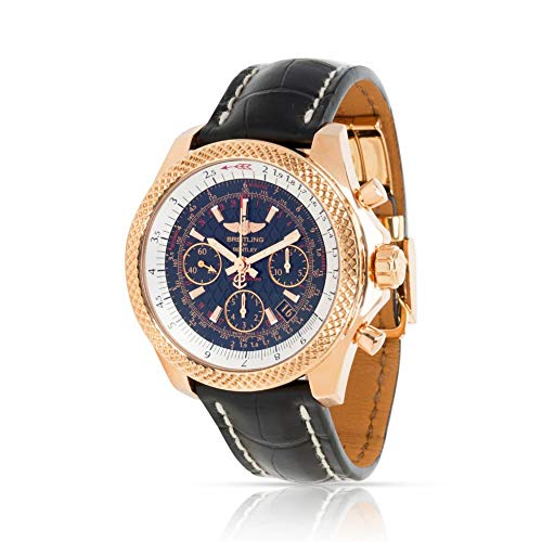 Breitling Bentley RB061221/BE24 Men's Watch in 18K Rose Gold (Certified Pre-Owned)
