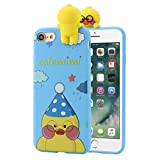 For IPhone 7 4.7 Inch/Plus 5.5 Inch Case Sinfu Cartoon Animal Bears Soft Silicone Protective Cover (For IPhone 7 4.7 Inch, C)