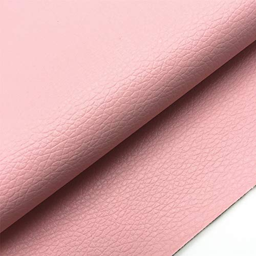 ZAIONE Solid Lichee Faux Leather by The Half Yard Width 54
