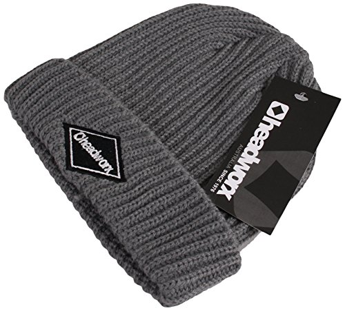 Hombre Gris Smoke Headworx Punto Patch GRY para Gorro de Diamond Grey wxfanqY4