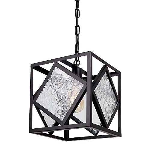 Metal Frame Pendant Light