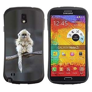 Suave TPU GEL Carcasa Funda Silicona Blando Estuche Caso de protección (para) Samsung Note 3 / CECELL Phone case / / Japanese Snow Monkey Ape Cute /