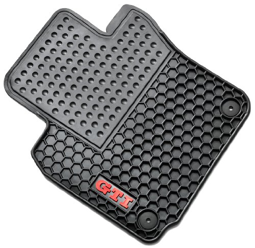 Gti Floor (Genuine 2006 - 2013 Volkswagen GTI Monster Mats)