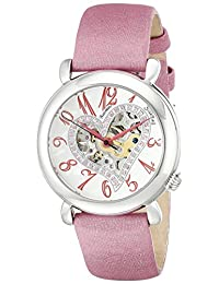 Stuhrling Original Women's 109SW.1215A2 Cupid Aphrodite Collection Automatic Skeleton Watch
