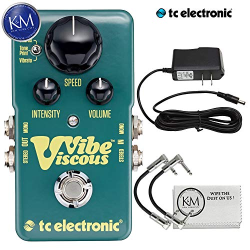 TC Electronic Viscous Vibe Pedal + 9V Power Supply, used for sale  Delivered anywhere in USA