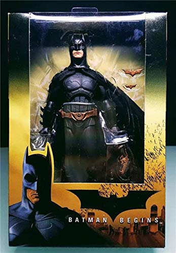 VIET FG NECA Begins Batman Bruce Wayne PVC Action Figure Collectible Model Toy 18cm- Gift for Your Kids