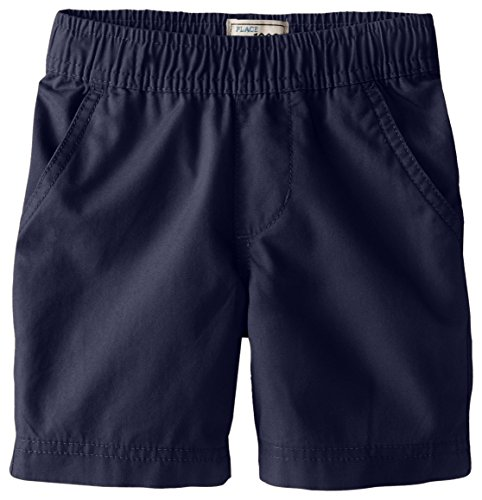 The Children's Place Baby Boys' Pull On Solid Short