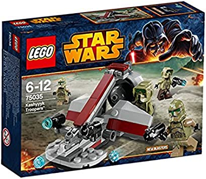 LEGO Star Wars - Kashyyyk Troopers (75035): Amazon.es: Juguetes y ...