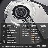 ROOFULL External CD DVD Drive USB 3.0 Type-C