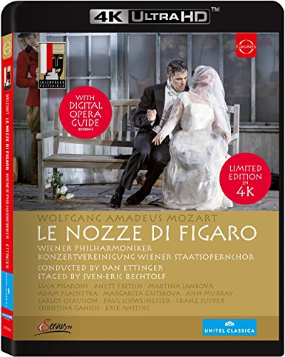 Le nozze di Figaro - 4k Ultra HD Bluray [Blu-ray]