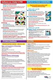 Infant & Child CPR, Choking, Poisoning & Burns First Aid Chart/Poster - 12 x 18 in. - Non-Laminated
