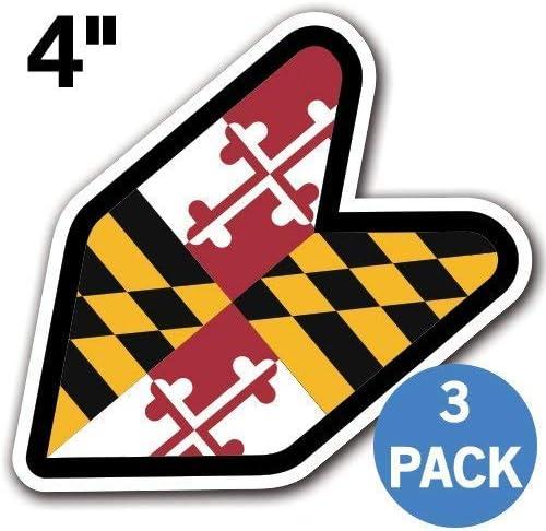 Columbia Flag JDM Design Car Vinyl Decals//Stickers