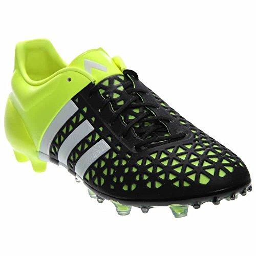 Tacchetti Da Calcio Adidas Ace 15.1 Fg / Ag (nero, Giallo Solare) Sz. 11