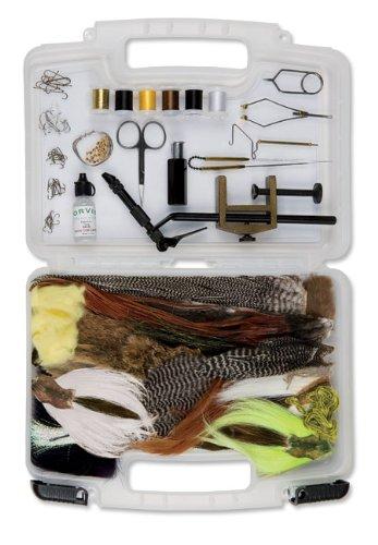 Orvis Premium Fly Tying Kit Angelsport-Artikel Angelsport-Fliegen-Bindematerialien
