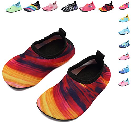 Baby Swimming Water Shoes Aqua Barefoot Quick-Dry Sock for Beach Pool Surfing Yoga,12,19-20