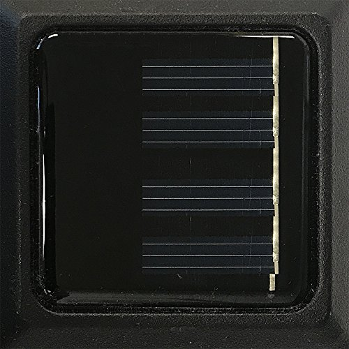 Sterno Home Paradise by Solar Cast LED Post Cap Light For 4x4 Posts With Crystalline Solar Panel,Rechargeable Batte by Sterno Home (Image #4)