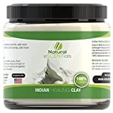 Clay Body Wrap Calcium Bentonite Clay Powder - Deep Cellular Healing - Detox, Cleanse, Restore  FREE Mask and Body Wrap Recipes Included