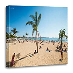 1. Size: 16 x 16 inch / 40 x 40 cm. 2. Our wall decor category provides high quality yet affordable canvas art. High definition picture photo prints on canvas with vivid color on thick high quality canvas to create the look and feel of the or...