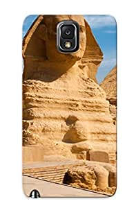 Premium Tpu Egypt Sphinx Pyramid Cover Skin For Galaxy Note 3