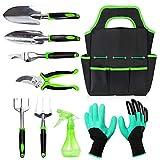 Gardening Tools Set,Hand Garden Tools Kit Gardening Gifts for Women Kid Men Gardener,