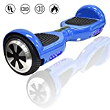 King Sports 6.5'' Dual Motors Self Balancing Scooter/Hoverboard w/Bluetooth Speaker and LED Lights, UL2722 Certified