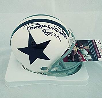 Randy White Autographed Signed Cowboys Throwback Mini Helmet Hall Of Fame  94 Memorabilia - JSA Authentic 37283384d