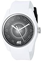 40Nine Men's 'Eclectic' Quartz Plastic and Silicone Casual Watch, Color:White (Model: 40N3.7W)