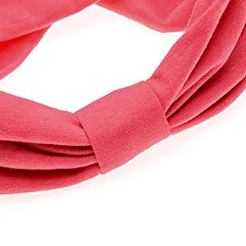 Ever Fairy Women Elastic Turban Head Wrap Headband Twisted Hair Band (4 Color Pack G) 6